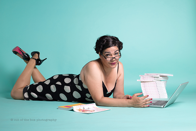 Petronilia Coaching Out of the Box Photography pin up shoot